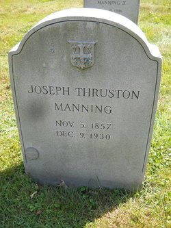 Joseph Thruston Manning, Sr.