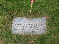Emma Theresa <i>Grenier</i> Boles