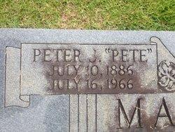 Peter Joseph Pete Magin, Jr