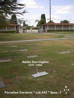 Addie <i>Calkins</i> Derrington