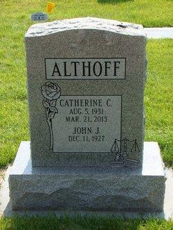 Catherine C <i>Chambers</i> Althoff