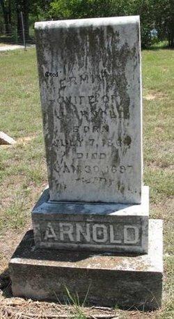 Ermina <i>Christian</i> Arnold