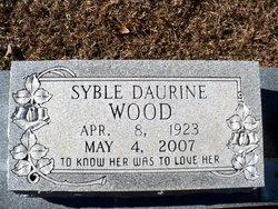 Syble Daurine <i>Pate</i> Wood