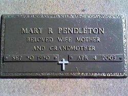 Mary Ruth <i>Sawyer</i> Pendleton