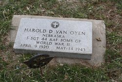 Sgt Harold D Vanoyen