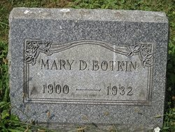 Mary D. Botkin