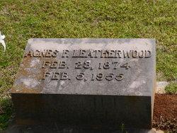 Agnes F Leatherwood