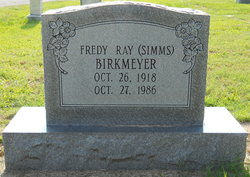 Fredy Ray <i>Simms</i> Birkmeyer