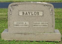 Sarah Helen <i>Miller</i> Baylor