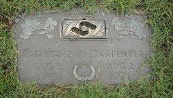 Christine <i>Alexander</i> Carpenter