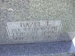 Hazel L <i>Waterworth</i> Schreiber