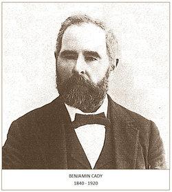 Benjamin Adelbert Cady