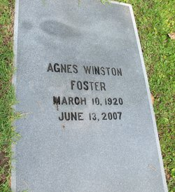 Agnes Winston Foster