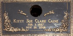 Kittie Sue <i>Clark</i> Caine