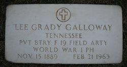Lee Grady Galloway