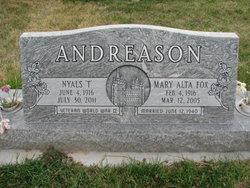 Nyals T Andreason