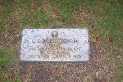 C E Robertson, Jr