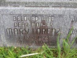Mary <i>Lorenz</i> Lanowetsky