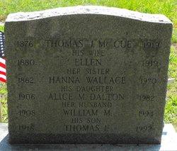 Alice M <i>McCue</i> Dalton