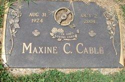 Maxine <i>Cloninger</i> Cable