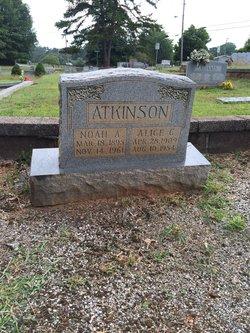 Alice C <i>Hall</i> Atkinson