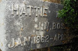 Hattie M. <i>Nunn</i> Boston