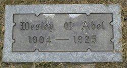 Wesley C Abel