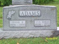 Eva Rhea <i>Jenkins</i> Adams