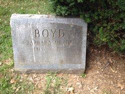 Barbara <i>Meade</i> Boyd