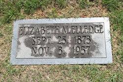 Elizabeth <i>McGrady</i> Elledge