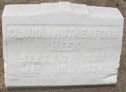 Claudia <i>Rutherford</i> Meek