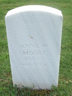 Annie W Moore