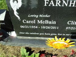 Carol <i>McBain</i> Farnham