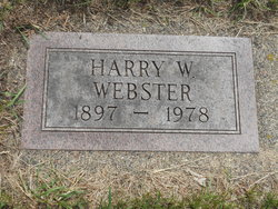 Harry Willard Webster