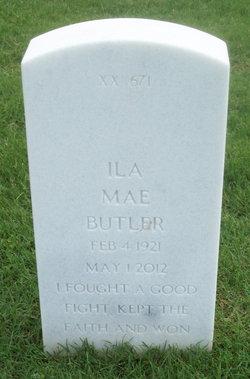 Ila Mae <i>Moore</i> Butler
