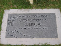 Antonio S Tony Guerrero