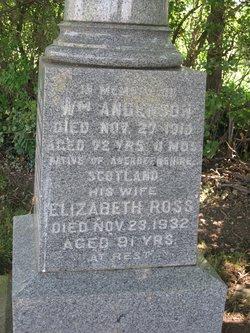 Elizabeth <i>Ross</i> Anderson