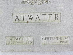 Wesley DeVern Atwater