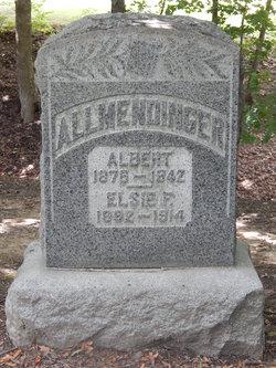 Elsie Florence <i>Easton</i> Allmendinger