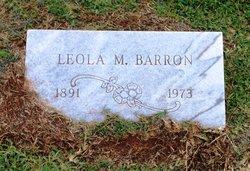 Leola M. <i>Welch</i> Barron