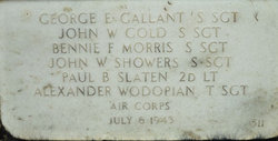 Sgt John W. Gold