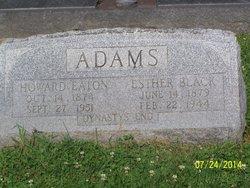 Esther <i>Black</i> Adams