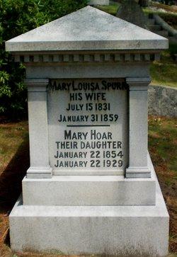 Mary Louisa <i>Spurr</i> Hoar