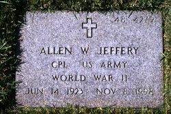 Allen W Jeffery