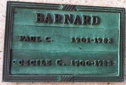 Cecile <i>Curtis</i> Barnard