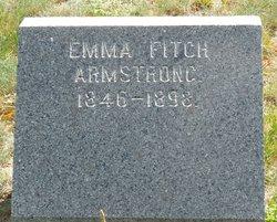 Emma <i>Fitch</i> Armstrong