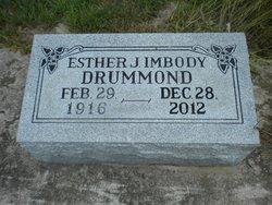 Esther J <i>Imbody</i> Drummond