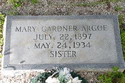 Mary Eleanor <i>Gardner</i> Argoe