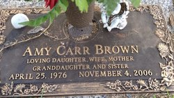Amy <i>Carr</i> Brown