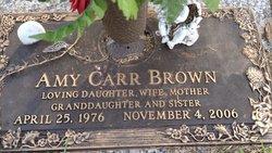 Amy <i>Carr</i> Brown